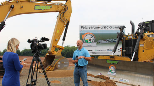 BC Organics breaks ground on its anaerobic digestion facility