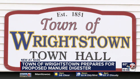 Public to weigh in on $60 million manure digester in Town of Wrightstown