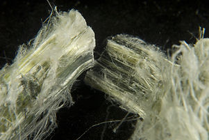 pure fibrous asbestos samples that can c