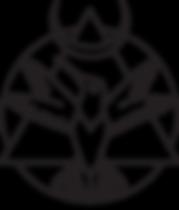 Waking Bird - Logo - Hummingbird - Pyramid - Crescent Moon - Sacred Circle