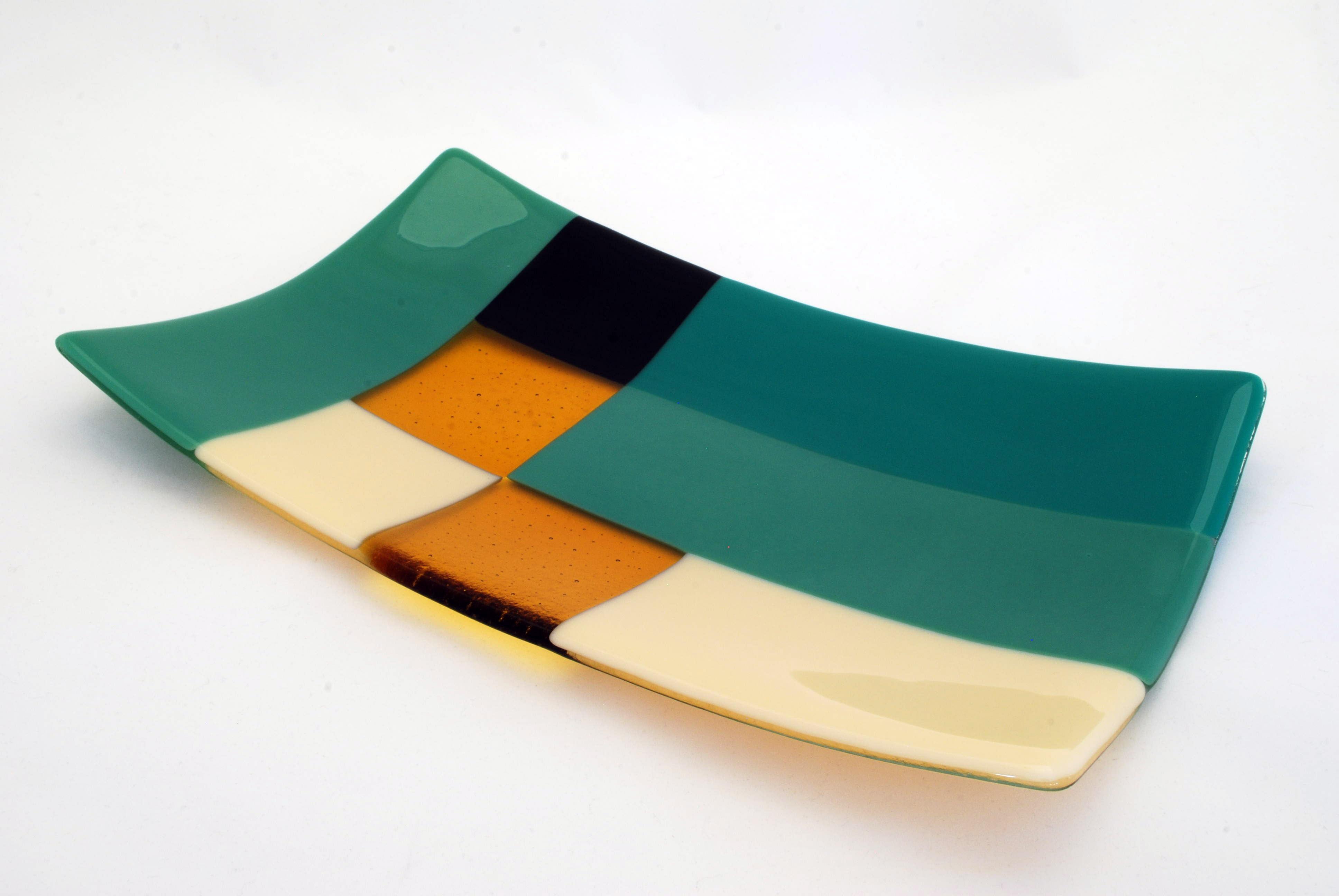 Platter in modernist design
