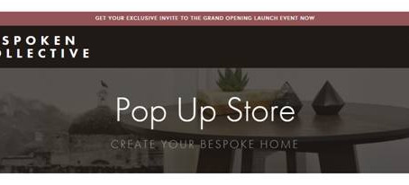 Bespoken Collective Pop Up Store