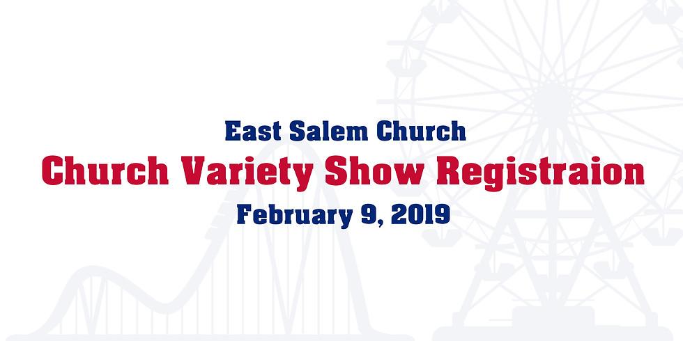 Variety Show Registration