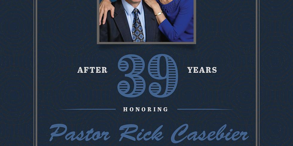 Pastor Rick Casebier's Retirement Reception