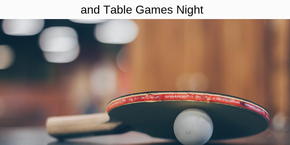 CANCELED  Ping Pong/Game Night