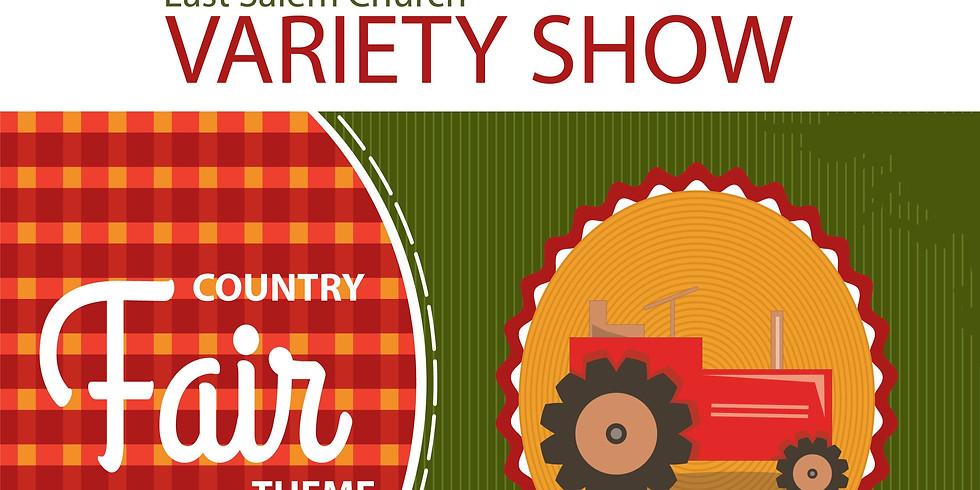 Church Variety Show TICKETS 2020