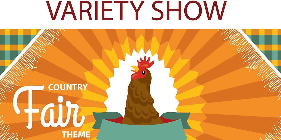 Variety Show PARTICIPANT Registration 2020