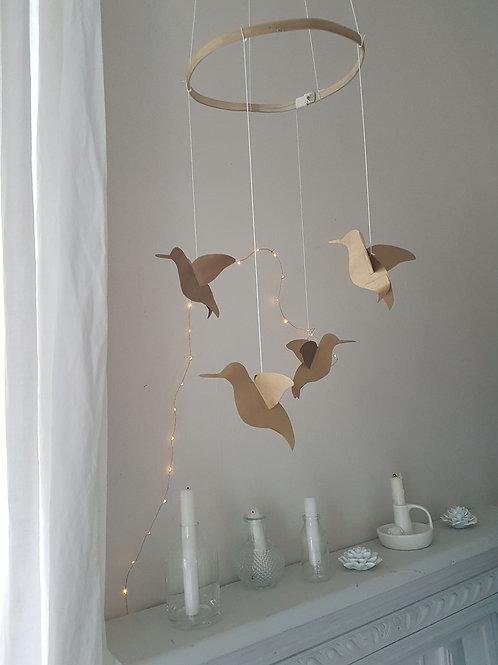 Mobile jolis colibris