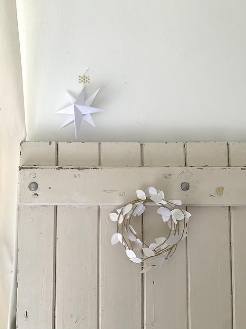 Brindilles décoratives coloris blanc