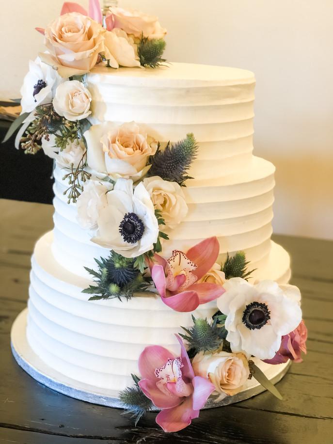 Contoured Cake