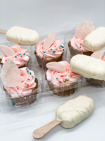 Cupcakes and Cakesicles