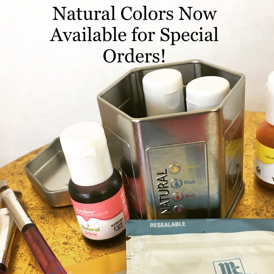 Natural Colors Available!