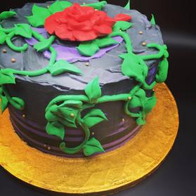 Disney Descendants themed cake