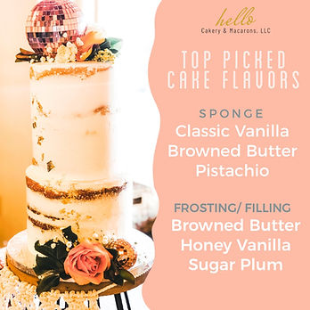 Top Cake Flavors