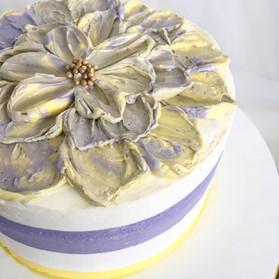 Lavender Buttercream