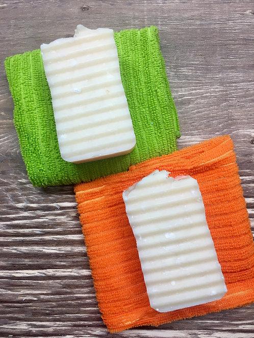 Solid Dish Soap Bar