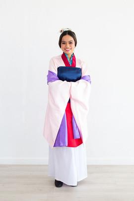 Mulan Inspired Character