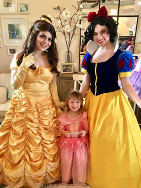 Snow White & Belle Inspired Characters - Lubbock