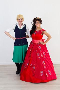Elena & Naomi Inspired Character