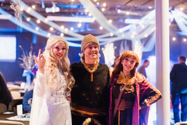 Frozen 2 Elsa, Anna, Kristoff Inspired Characters