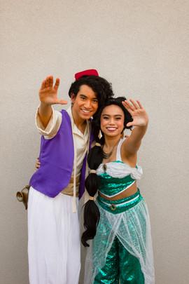 Jasmine & Aladdin Inspired Characters