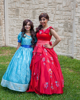 Elena and Isabel of Avalor Inspired Characters
