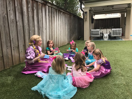 Rapunzel Craft Time