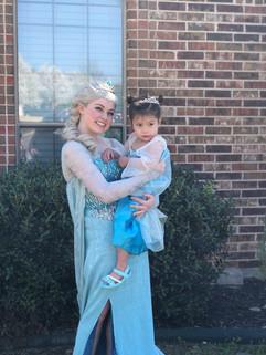 Elsa Inspired Character - Lubbock
