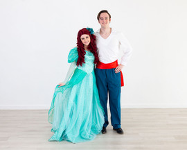 Ariel & Eric Inspired Characters