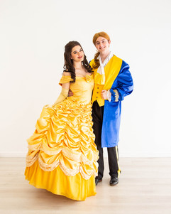 Belle & Prince Adam Inspired Characters