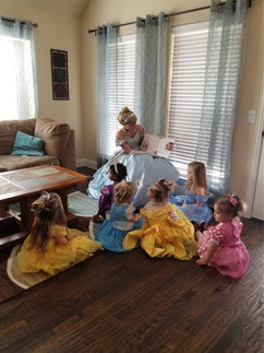 Cinderella Story-time