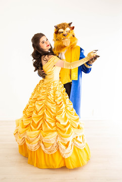 Beauty and the Beast (masked)