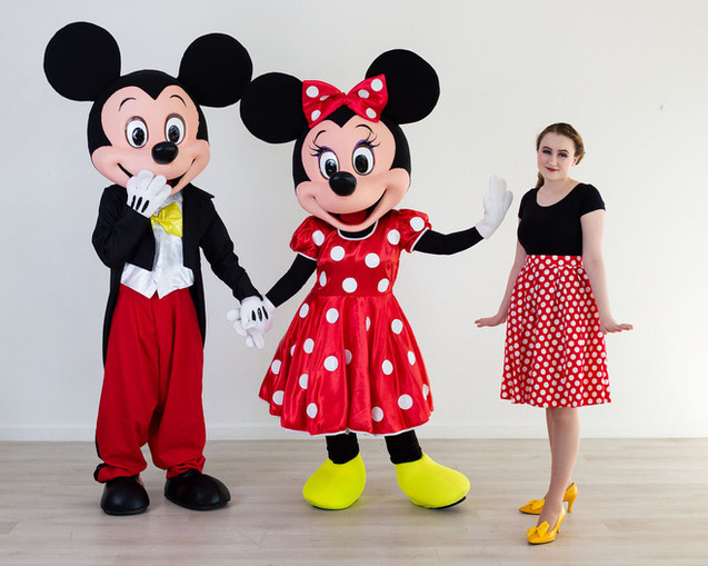 Mouse Characters with Magical Attendant