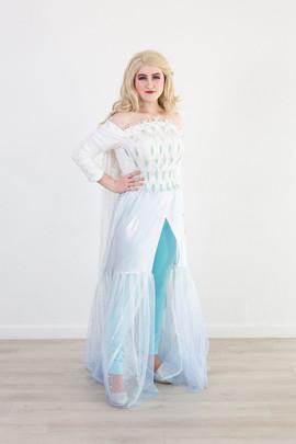 Frozen 2 Elsa Inspired Character (White dress #1)