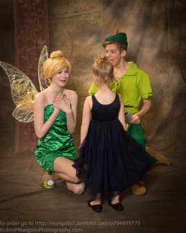 Peter Pan and Tink Inspired Characters