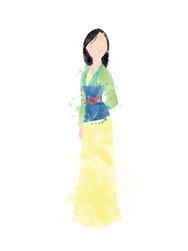Mulan Inspired Characters