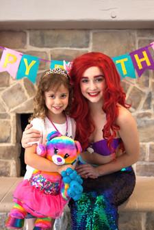 Little Mermaid Inspired Character