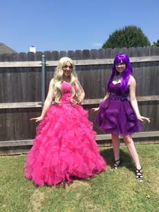 Barbie Inspired Characters - Lubbock