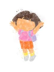 Dora the Explorer Inspired Characters