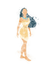 Pocahontas Inspired Characters