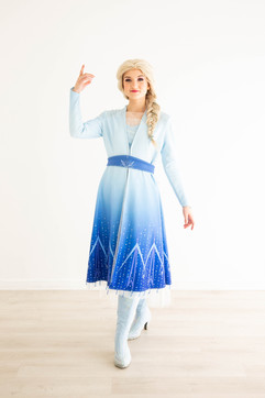 Frozen 2 Elsa Inspired Character - Adventure Outfit