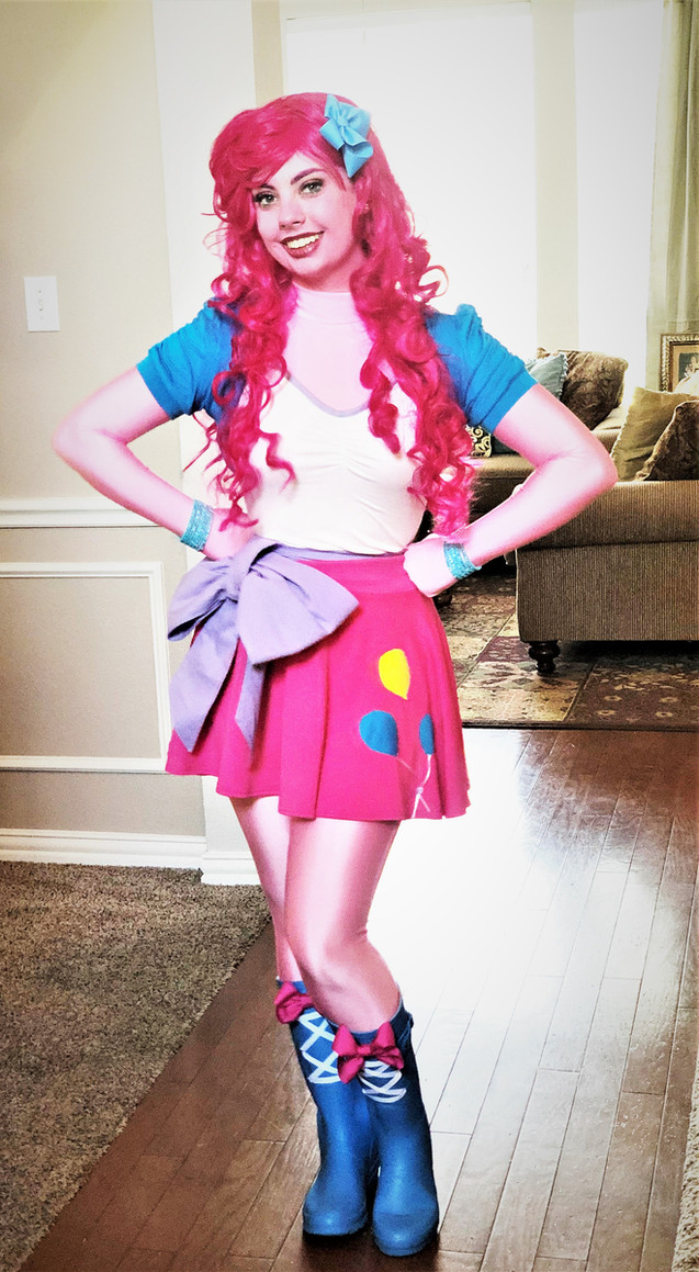 Pinkie Pie Equestria Girl Inspired Character