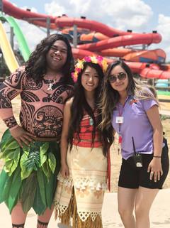 Hawaiian Princess & Demigod