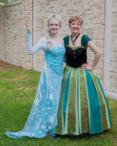 Elsa and Anna Inspired Characters