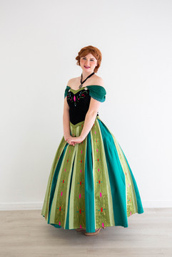 Anna Inspired Character - Coronation Gown