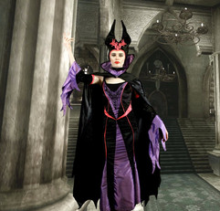 Maleficent Inspired Character