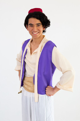 Aladdin Inspired Character