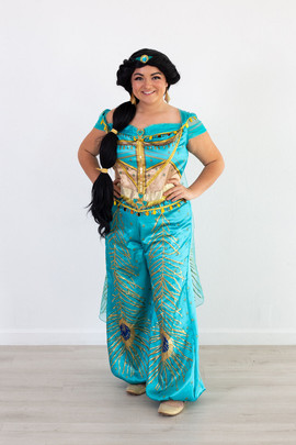 Jasmine Live Action Inspired Character (green outfit)