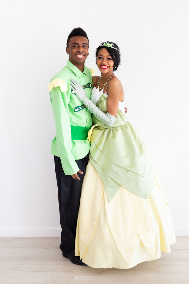 Tiana & Naveen Inspired Characters
