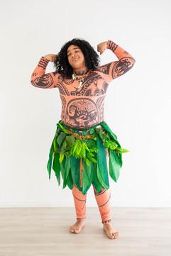 Maui Inspired Character - Demigod